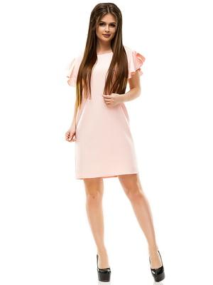 Платье цвета пудры   4613710