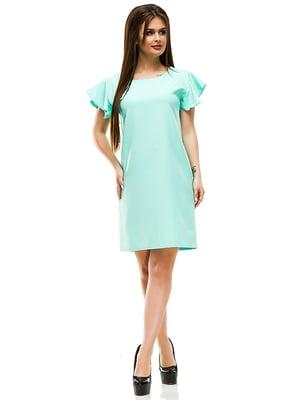 Сукня м'ятного кольору | 4613711