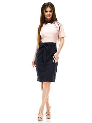 Платье двухцветное | 4613801