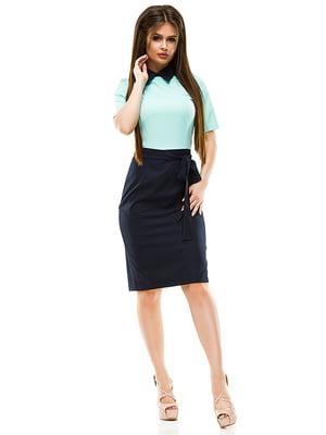 Платье двухцветное | 4613802