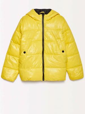 Куртка желтая | 4602542
