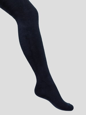 Колготки темно-синие махровые | 4568320