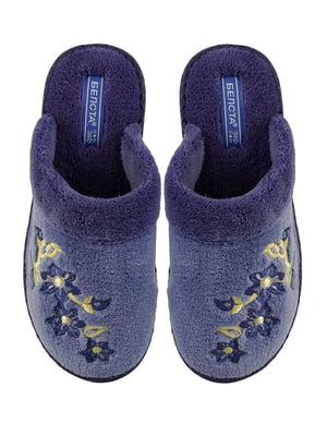 Тапочки сині | 4645705