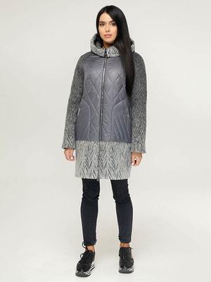 Пальто сіре   4643444