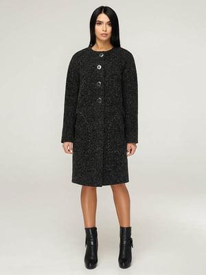 Пальто чорне | 4643501
