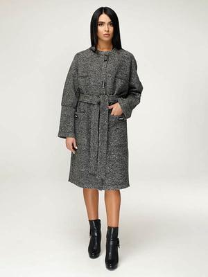 Пальто темно-серое   4643510