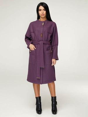 Пальто фиолетовое | 4643520