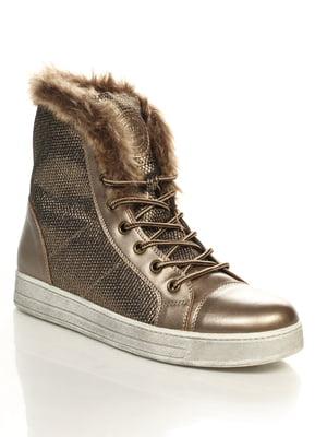 Ботинки бронзового цвета | 4632217