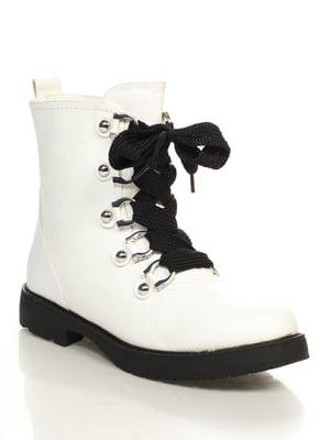 Ботинки белые | 4632221