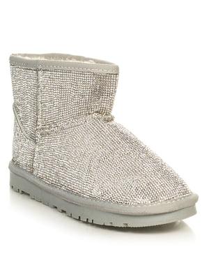 Ботинки серебристые | 4646746