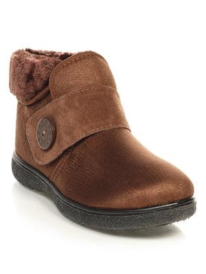 Ботинки коричневые | 4646728