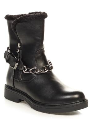 Ботинки черные | 4646733