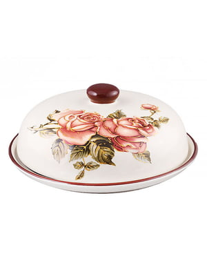 Блюдо для млинців з кришкою «Корейська троянда» (23 см)   4648053