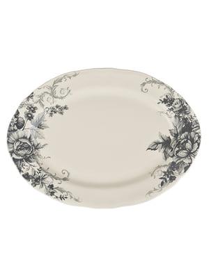 Блюдо «Вінтажні квіти» (36 см) | 4648106