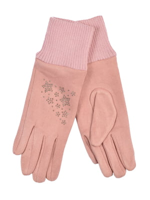 Перчатки подростковые розовые | 4604022