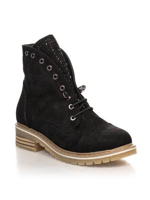 Ботинки черные | 4633221