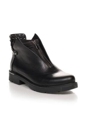 Ботинки черные | 4633212