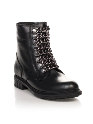 Черевики чорні | 4633218
