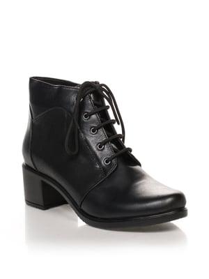 Ботинки черные | 4633216