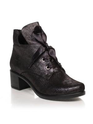 Ботинки черные | 4633214