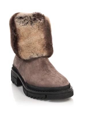 Ботинки бежевые | 4616012