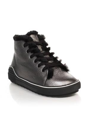 Ботинки цвета никеля | 4633211