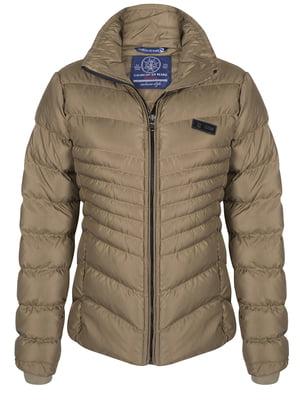 Куртка цвета хаки | 4592973