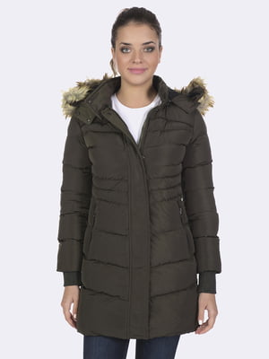 Пальто цвета хаки | 4592981