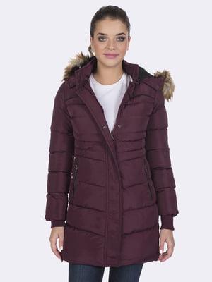 Пальто цвета марсала | 4592982