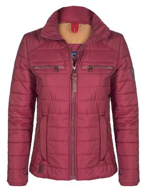 Куртка бордовая | 4592990
