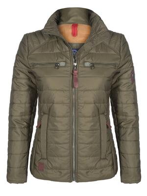Куртка цвета хаки | 4592993