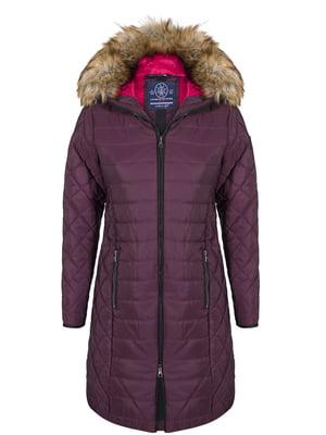 Пальто цвета марсала | 4593013