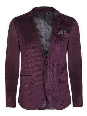 Пиджак цвета марсала | 4649783