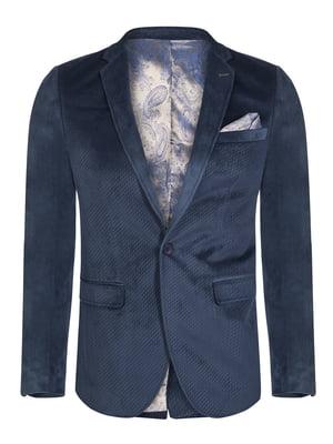 Пиджак темно-синий | 4649784