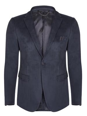 Піджак темно-синій | 4649785