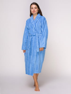 Халат синий махровый   4635866