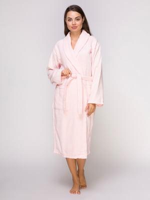 Халат розовый махровый | 4635899