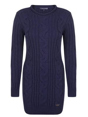 Платье синее | 4649750