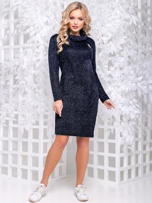 Платье синее | 4653855