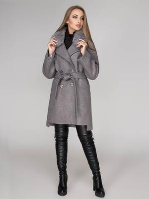 Пальто серое | 4654456