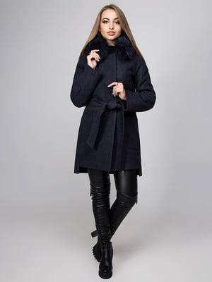 Пальто темно-синє | 4654459