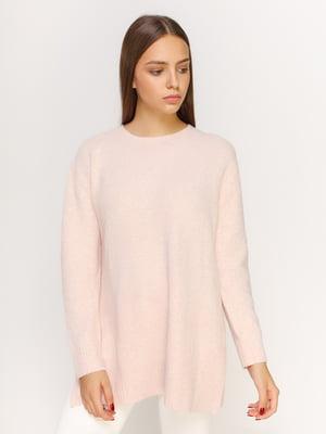 Джемпер бледно-розового цвета | 4594241