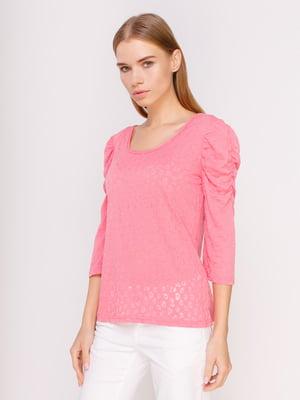 Лонгслів рожевий | 4617631