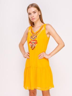 Платье желтое | 4620341