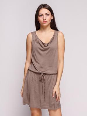 Платье бежевое | 4620243