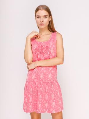 Платье розовое | 4620957
