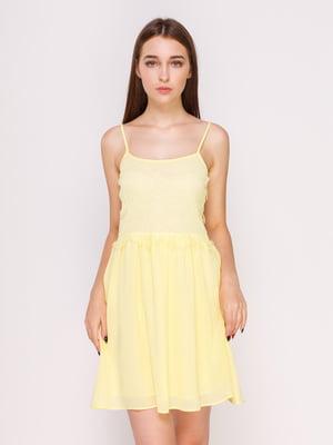 Платье желтое | 4620942