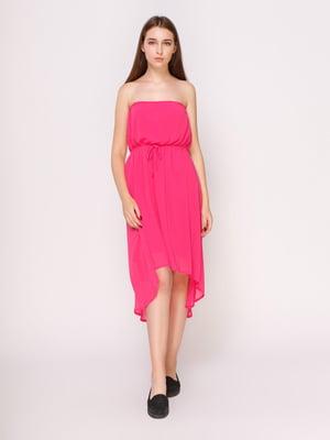 Платье цвета фуксии | 4621063