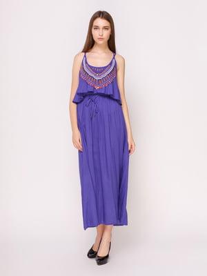 Платье фиолетовое | 4620532