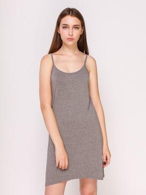Платье серое | 4620321